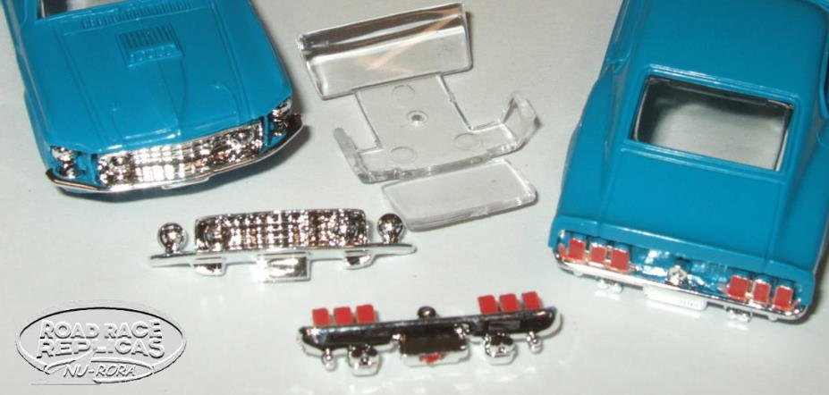 SPECIAL 1415-P Mach 1 GLASS & both bumpers - $12