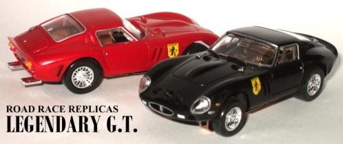 Road Race Replicas - H O  Slot cars!