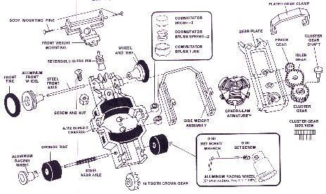 SUPER II EXPLODED VIEW